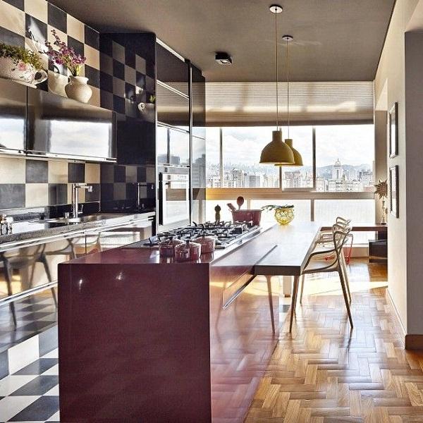 Cozinha com Ilha  Cozinha Americana  25 Modelos e Fotos # Iluminacao De Cozinha Com Ilha