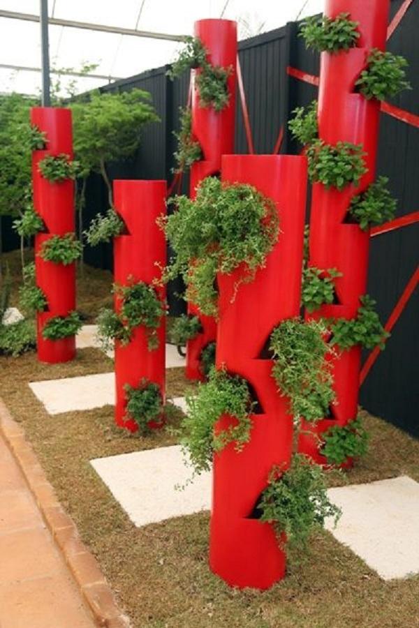 Jardim suspenso veja dicas e 22 modelos lindos for Jardin vertical barato
