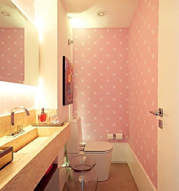 lavabos pequenos 17 fotos e modelos para voc se inspirar. Black Bedroom Furniture Sets. Home Design Ideas
