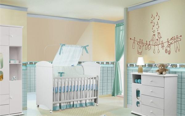 Decoração Para Quarto de Bebê – 26 Ideias Bacanas Para Anotar-26