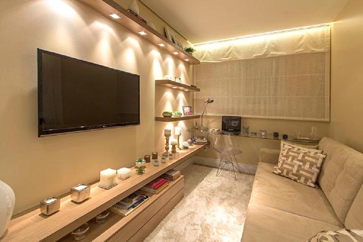 Apartamentos Decorados Pequenos – Veja 22 Ambientes Inspiradores-14