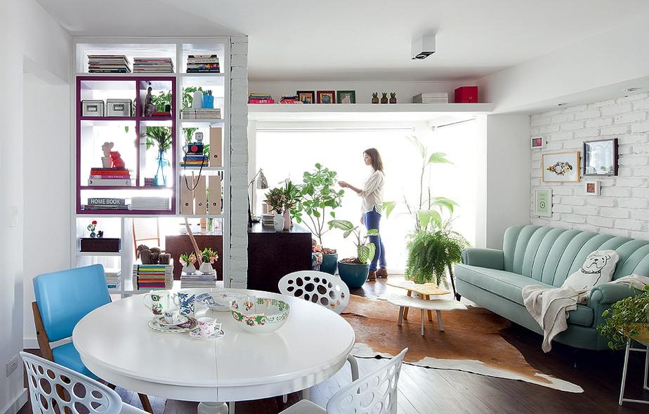 Apartamentos Decorados Pequenos – Veja 22 Ambientes Inspiradores-5