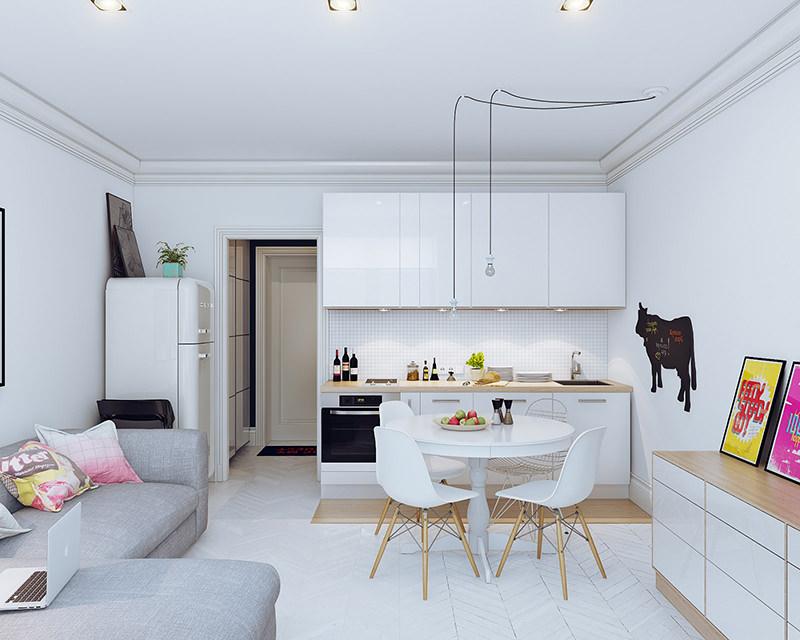 Apartamentos Decorados Pequenos – Veja 22 Ambientes Inspiradores-1