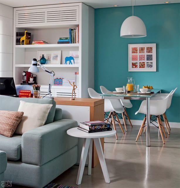 Apartamentos Decorados Pequenos – Veja 22 Ambientes Inspiradores-3