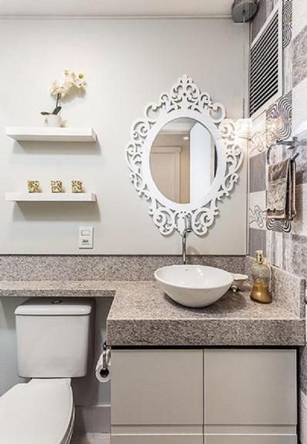 Banheiros Decorados – 19 Ideias Para Você Fazer Igual! -> Banheiro Pequeno Projetado