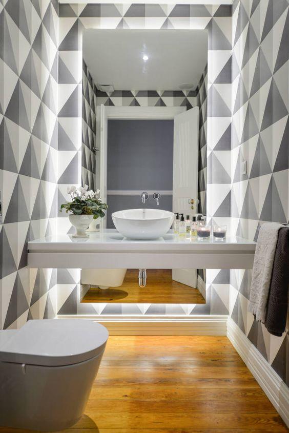 Banheiros Pequenos Decorados – 10 Dicas para Decorar o Seu-1