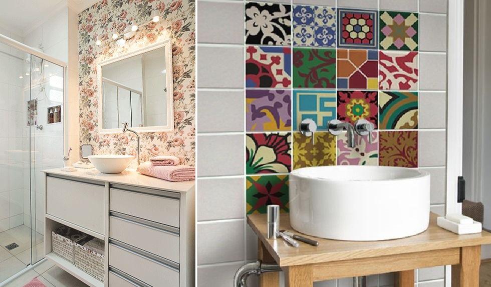 Banheiros Pequenos Decorados – 11 Dicas para Decorar o Seu -> Banheiro Decorado Pedras