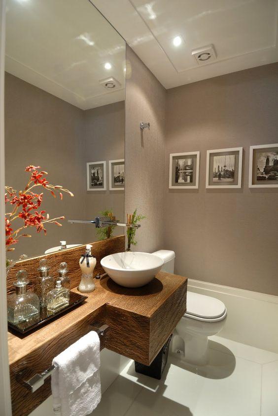 Banheiros pequenos decorados 11 dicas para decorar o seu Ideas de decoracion de interiores baratas