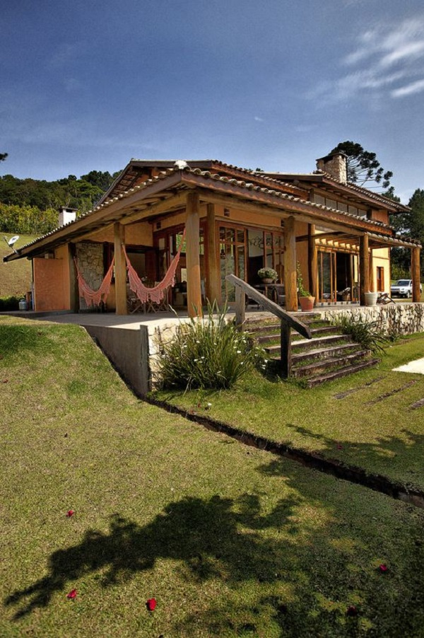 Casa de campo conhe a 20 op es lindas - Casas de campo por dentro ...