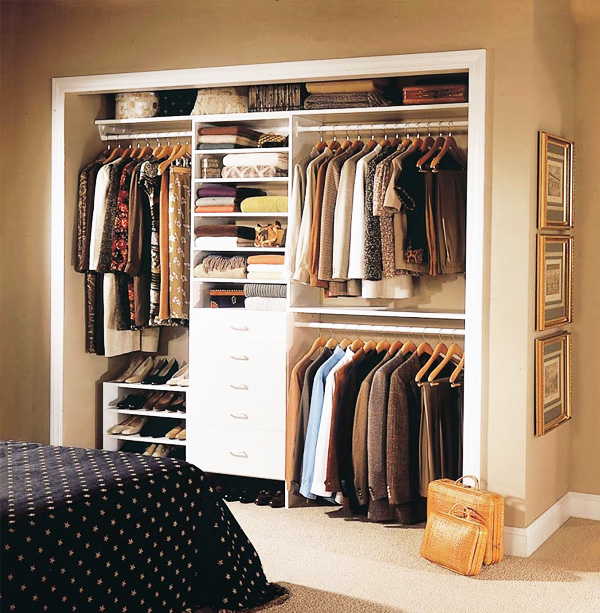 Closets Pequenos ~ Closets Pequenos u2013 24 Ideias Práticas e Lindas Para Te Inspirar