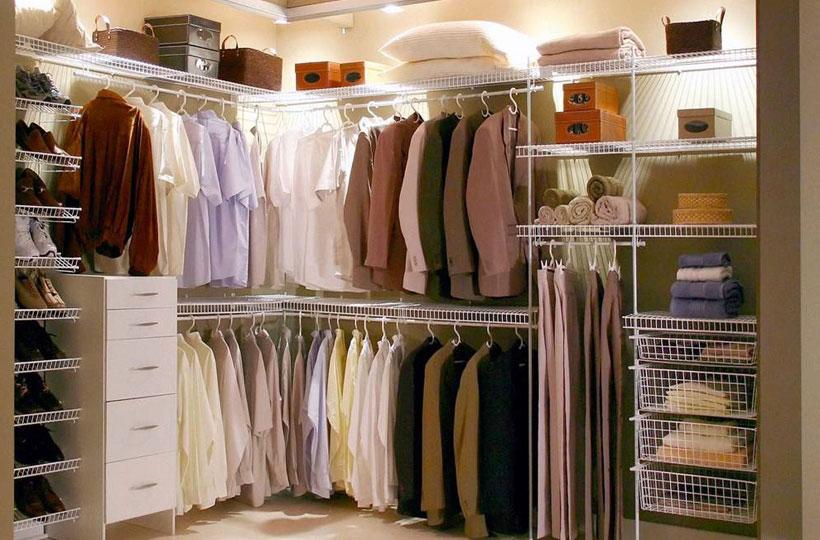 Closets Pequenos – 24 Ideias Práticas e Lindas Para Te Inspirar-4