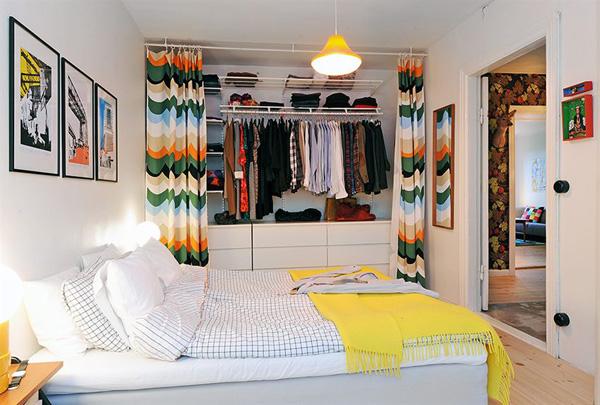 Closets Pequenos – 24 Ideias Práticas e Lindas Para Te Inspirar-5