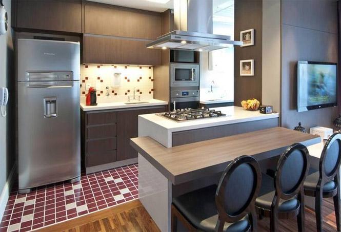 Cozinha Americana – 20 Modelos incríveis para se inspirar-9