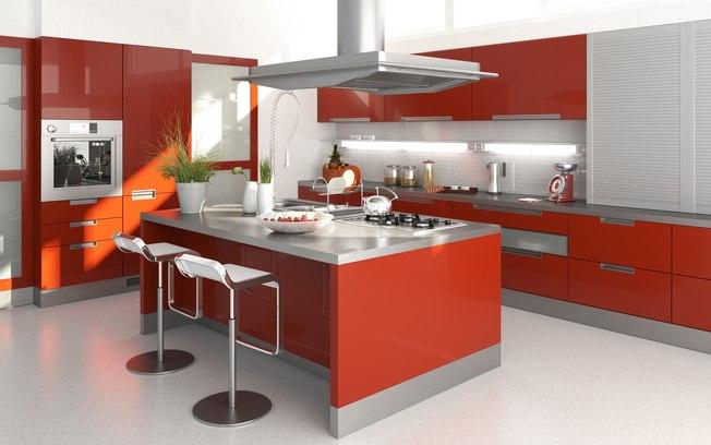 Cozinha Americana – 20 Modelos incríveis para se inspirar-3