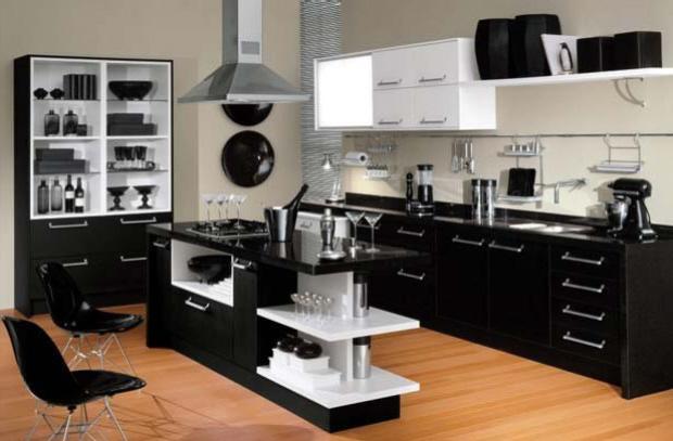 Cozinha Americana – 20 Modelos incríveis para se inspirar-7