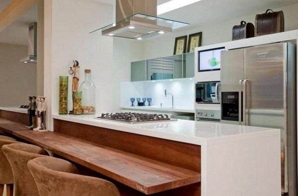 Cozinha Americana – 20 Modelos incríveis para se inspirar-19