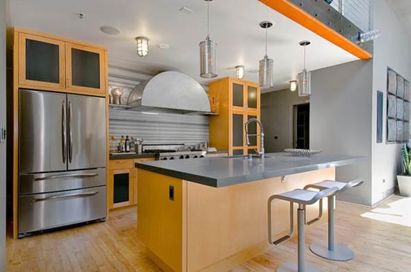 Cozinha Americana – 20 Modelos incríveis para se inspirar-11