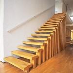 Escadas de Madeira –  20 Ideias Para Inspiração