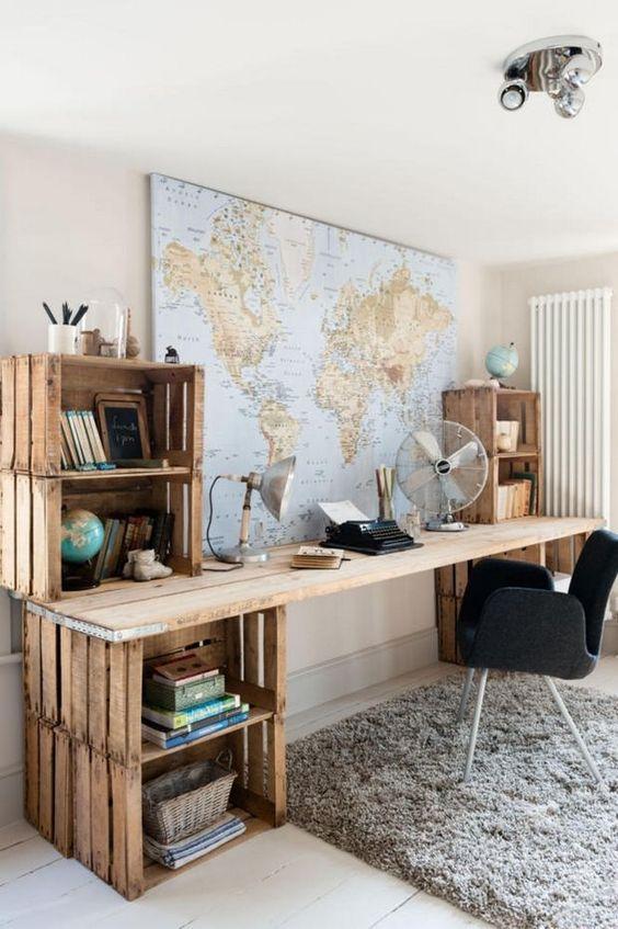 Decoração Para Casa com Palete - Ideias Para se Inspirar 13
