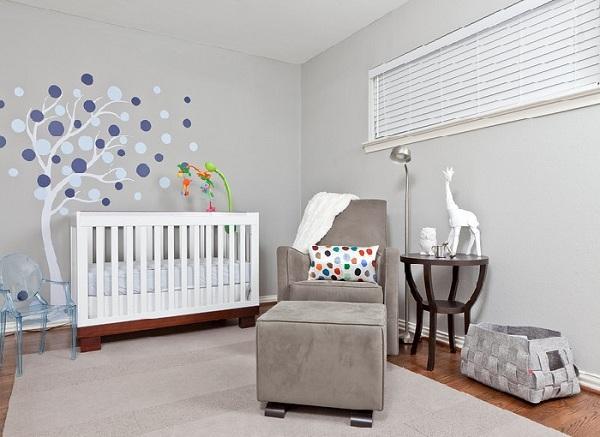 Decoração Para Quarto de Bebê – 26 Ideias Bacanas Para Anotar-19