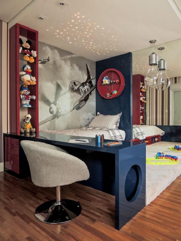 quarto de menino 1Quarto de Menino – Veja 20 ideias e fotos criativas-11