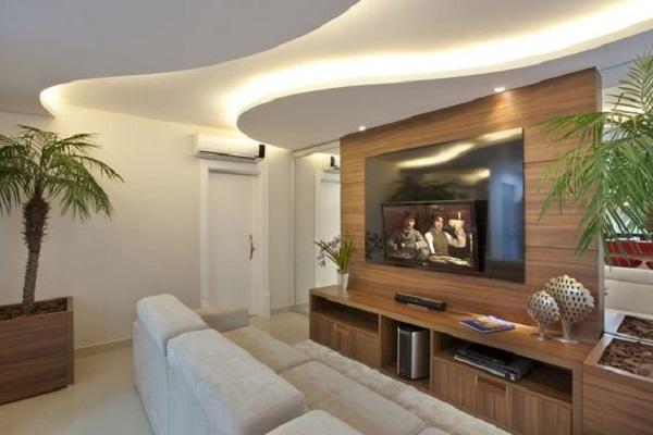 sanca de gesso confira 12 fotos e modelos para voc investir. Black Bedroom Furniture Sets. Home Design Ideas