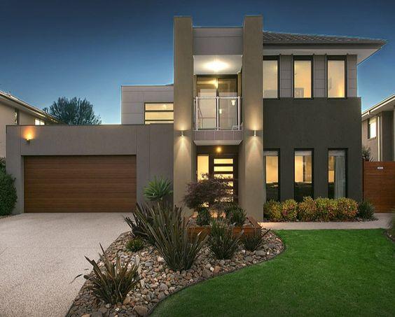 Modelos de casas modernas x ideias para se inspirar for Casas modernas 2016