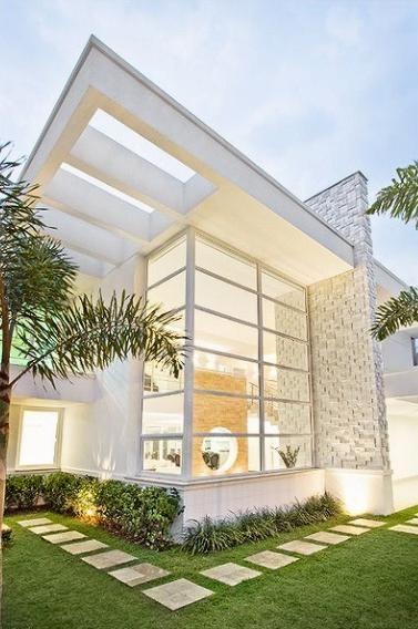 Modelos de casas modernas x ideias para se inspirar for Modelos de fachadas modernas
