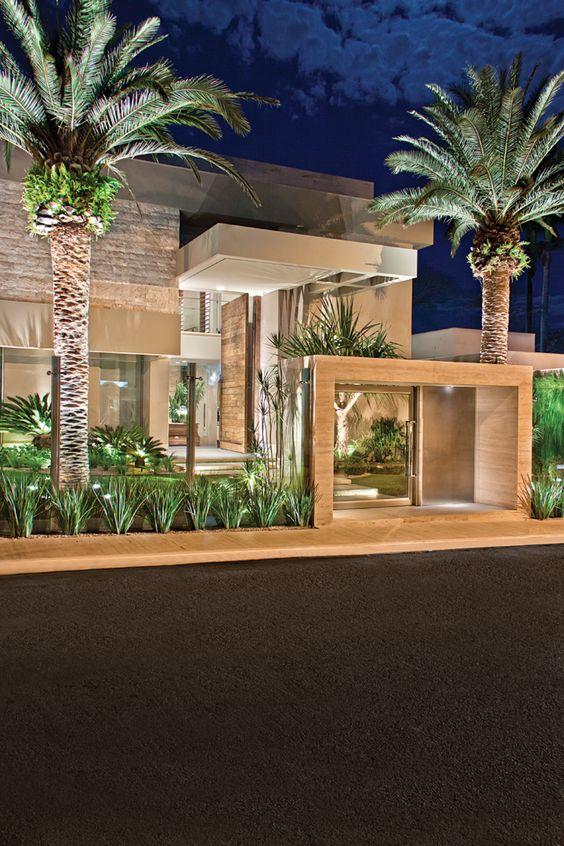 Modelos de casas modernas x ideias para se inspirar for Casa moderna 4 ambientes