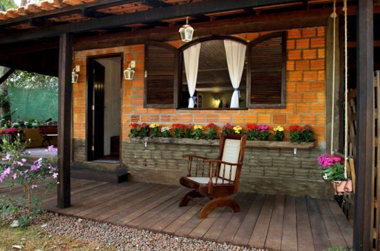 Casas pequenas decoradas 26 modelos e fotos para te inspirar for Casas rusticas pequenas