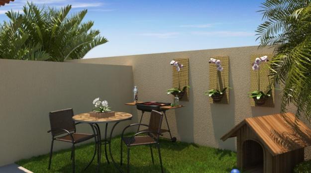 Casas pequenas decoradas 26 modelos e fotos para te inspirar for Modelos de patios de casas pequenas