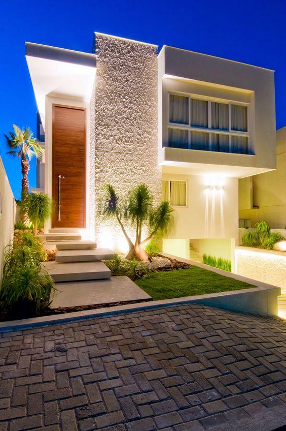Fachadas de casas 21 modelos para voc se inspirar for Fotos de fachadas de casas andaluzas