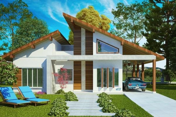 Fachadas de Casas – 21 Modelos para você se inspirar-17