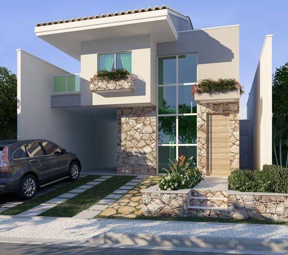 Fachadas de Casas – 21 Modelos para você se inspirar-2