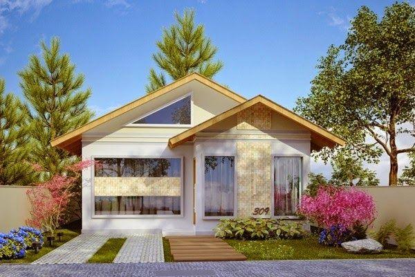 Fachadas de Casas – 21 Modelos para você se inspirar-20