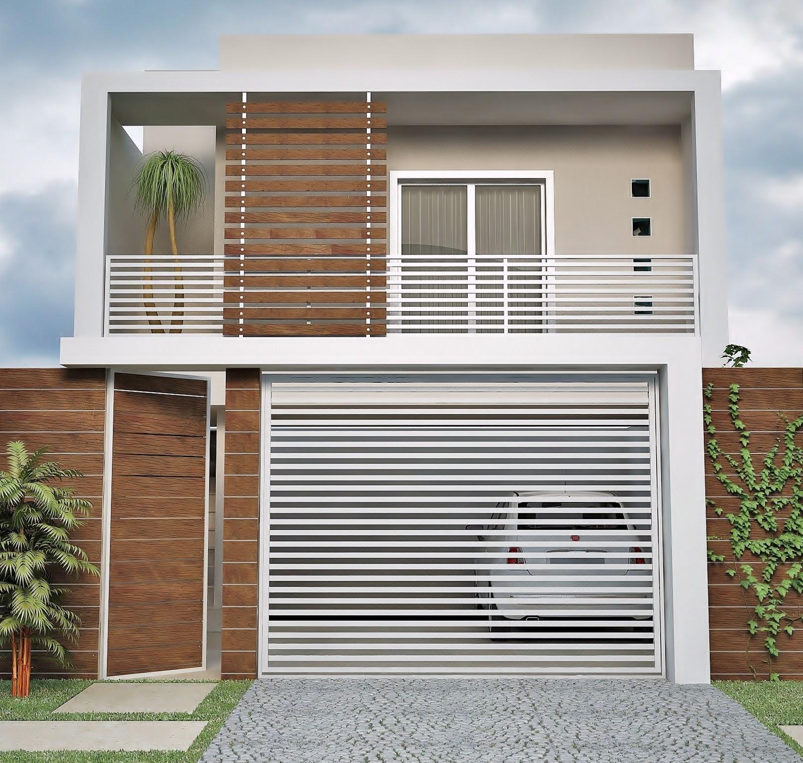 Fachadas de Casas – 21 Modelos para você se inspirar-21