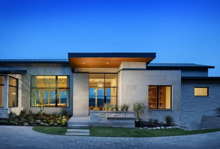 Fachadas de casas 21 modelos para voc se inspirar - Fachadas grandes ...