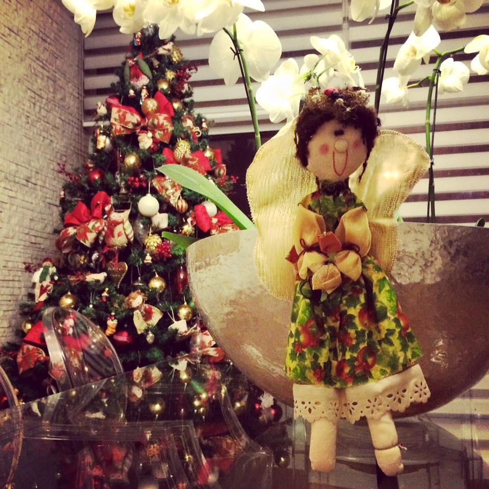 Decoração rústica de natal