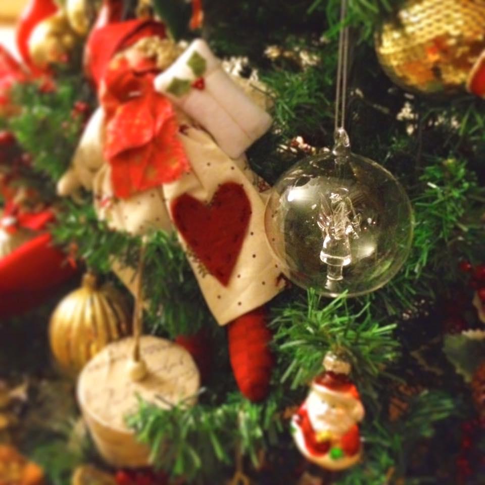Decoração rústica de natal1