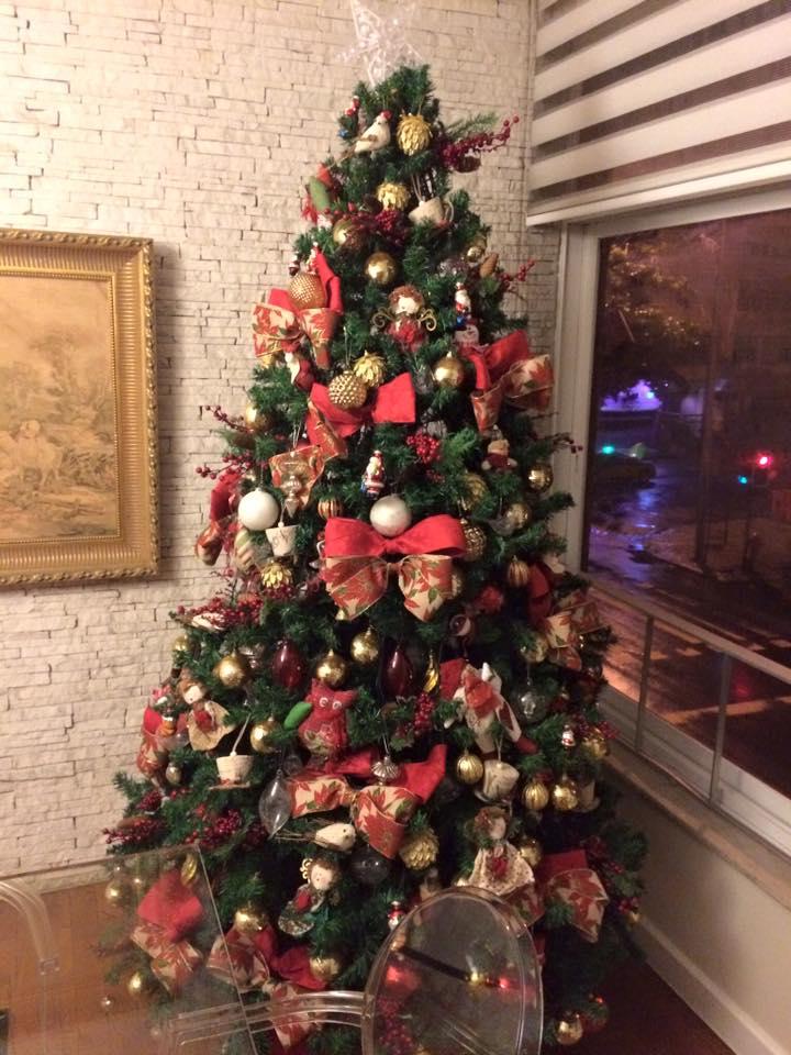 Decoração rústica de natal2