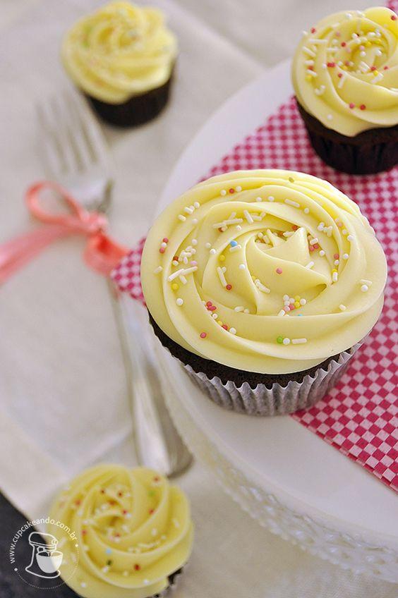 Receita de Cupcake Simples- 15 Fotos de Cupcake Decorados