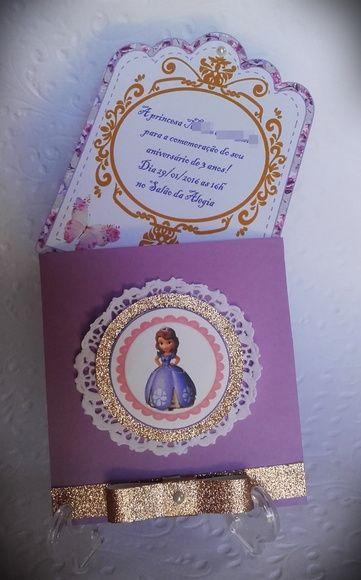 Festa de Aniversário da Princesa Sofia: Bolo, Decoração