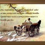 Mais Bela Parábola – Carroça Vazia – Belas histórias