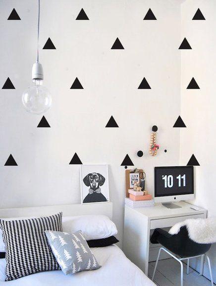 Adesivos de Parede - Fotos Para Inspirar a Decoração da Sua Casa