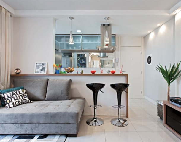 Apartamentos Decorados Pequenos – Veja 22 Ambientes Inspiradores-6