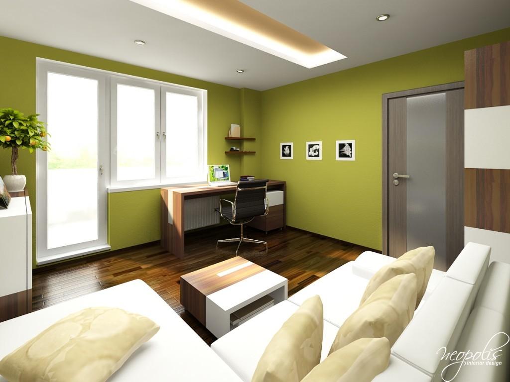 Apartamentos decorados pequenos veja 23 ambientes for Pintura para apartamentos modernos