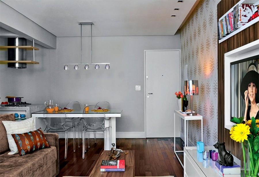 Apartamentos Decorados Pequenos – Veja 22 Ambientes Inspiradores-2
