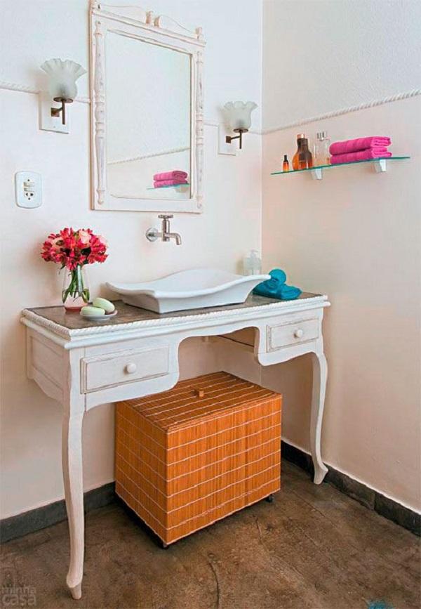 Banheiros Decorados – 15 Ideias Para Você Fazer Igual!-10