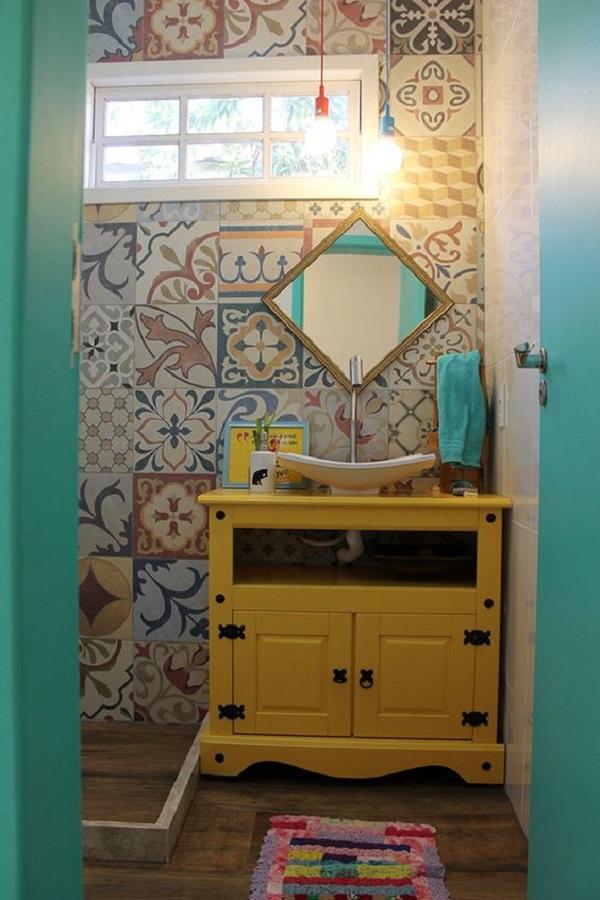 Banheiros Decorados – 15 Ideias Para Você Fazer Igual!-19