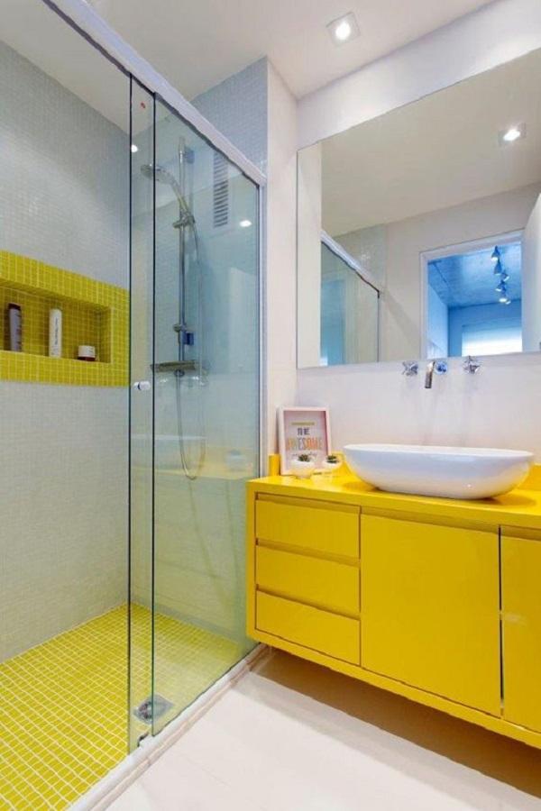 Banheiros Decorados – 15 Ideias Para Você Fazer Igual!-20